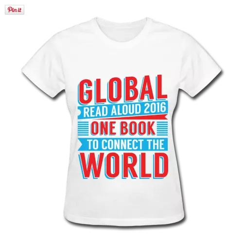 2016 Global Read Aloud T-Shirt - Pernille Ripp's T-Shirts.clipular